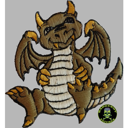Badgeboy Green dragon small 8 cm