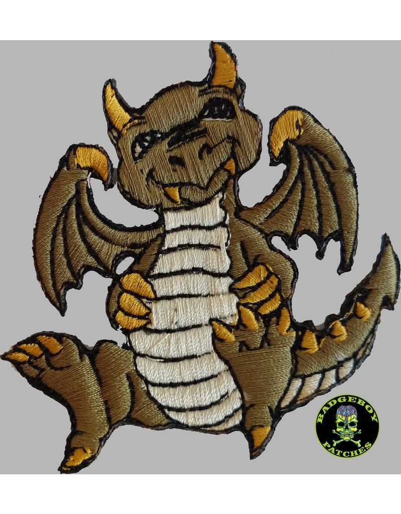 Badgeboy Green dragon small 8 cm