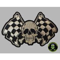 Badgeboy Racing skull small