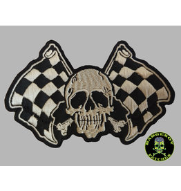 Badgeboy Racing skull small