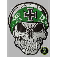 Badgeboy Skull with Bandana