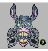 Badgeboy Crazy Donkey Backpatch 30 cm