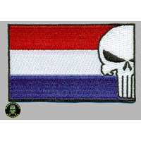 Badgeboy Dutch Flag Punisher