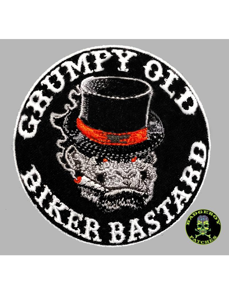 Badgeboy Grumpy Old Biker Bastard small 8 cm