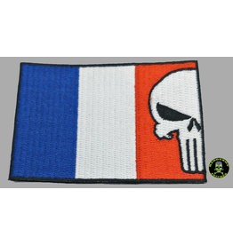 Badgeboy French Flag Punisher