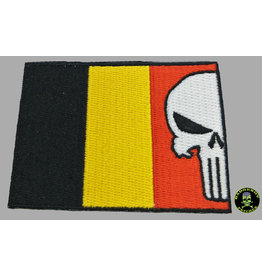 Badgeboy Belgium Flag Punisher