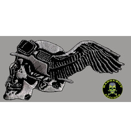 Badgeboy German with wing Small