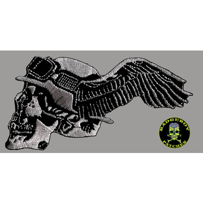 Badgeboy German with wing Left Small 8 cm