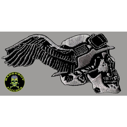 Badgeboy German with wing Small right 8 cm