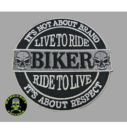 Badgeboy It is not the Brand Biker