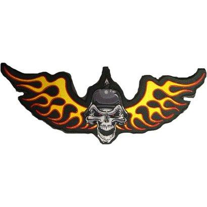 German Skull Side wings 130 E