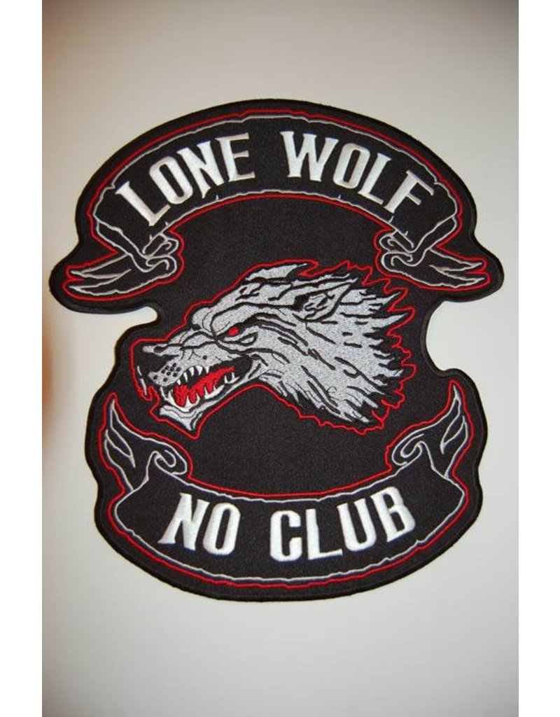 Lone Wolf No Club angry wolf large nr.235 E