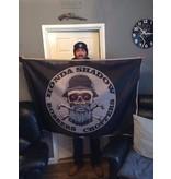 badgeboy Honda Shadow bobber flag