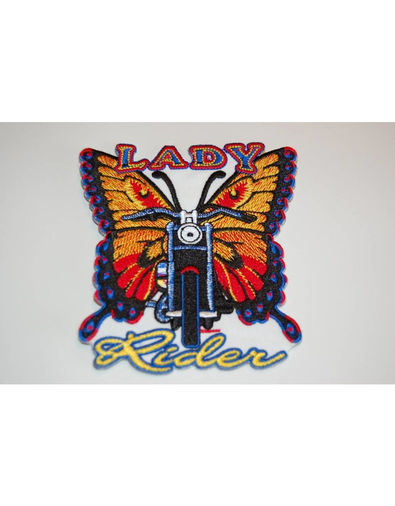 Badgeboy Butterfly Lady rider Nr.167 E
