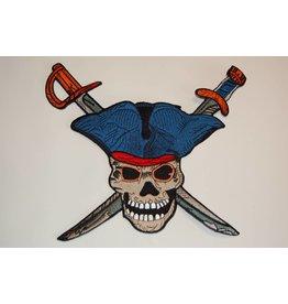 Badgeboy Pirate Cross Swords