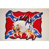 Eagle rebel flag