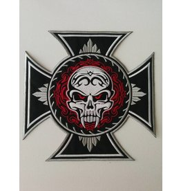 Badgeboy Skull Cross Fangs