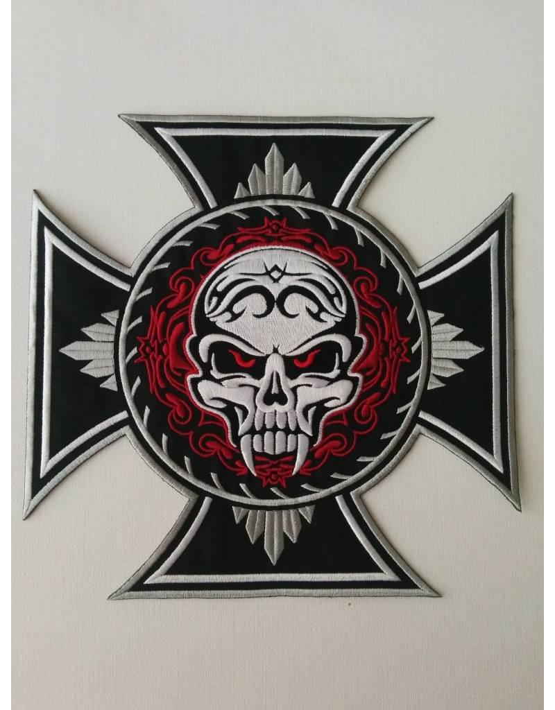 Skull Cross Fangs Nr 438 E