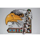 Eagle Large with feather Nr. 355 E