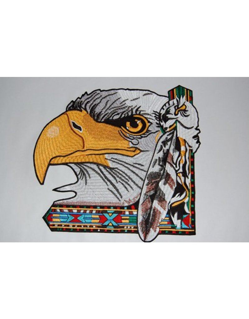 badgeboy Eagle Large with feather Nr. 355 E