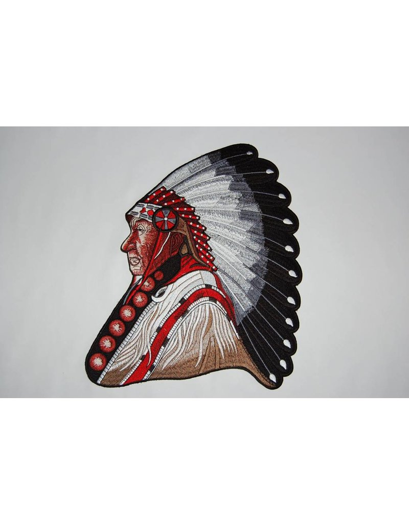 badgeboy The Old Indian Chief Large Nr.349 E