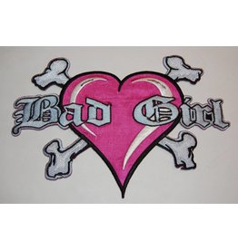 badgeboy Bad Girl Pink Large