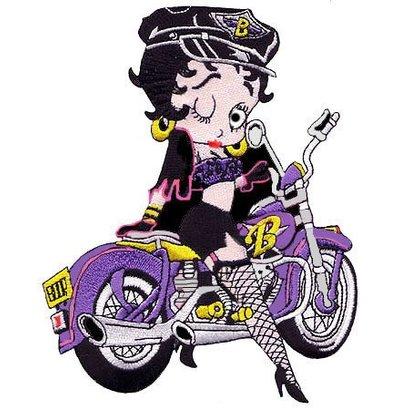 Betty Boop Purple stockings Large Nr. 152 E