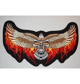 Badgeboy Eagle Wide with Skull