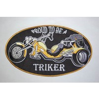 Proud to be a triker yellow large