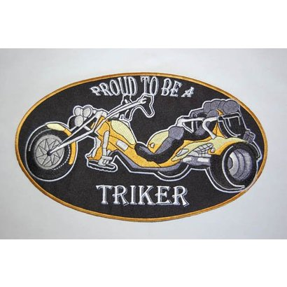 Proud to be a triker yellow large Nr. 424 E