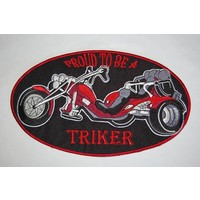 Proud to be a triker red large