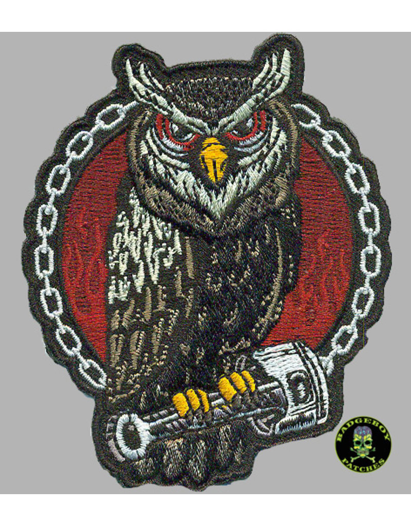 badgeboy Owl  9cm