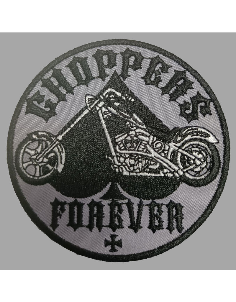 badgeboy Choppers for Ever 8 cm Patch