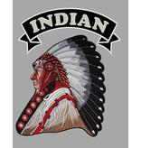 badgeboy Indian set back patches