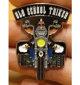 badgeboy Old School Triker Pin