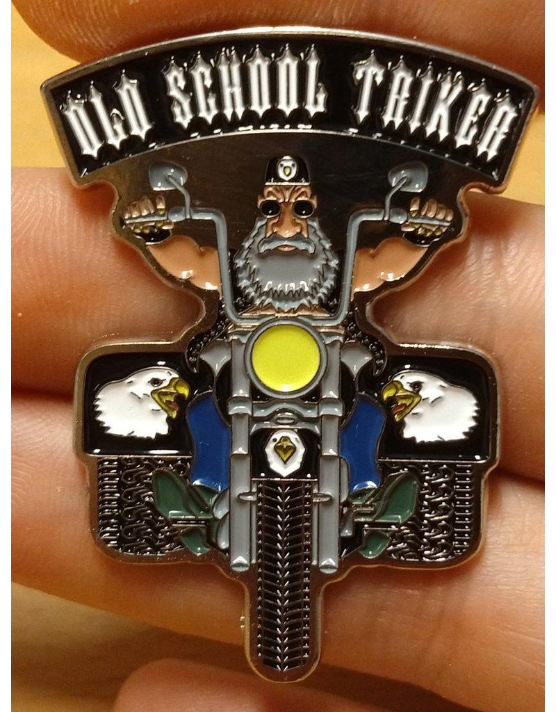 badgeboy Old School Triker Pin