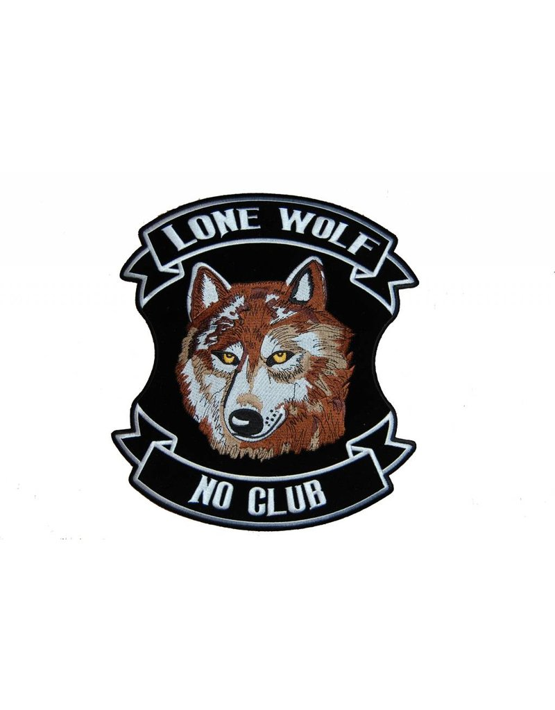 Lone wolf brown large 607 E