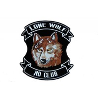 Lone wolf brown small
