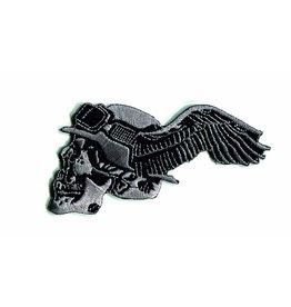 Badgeboy German skull winged left