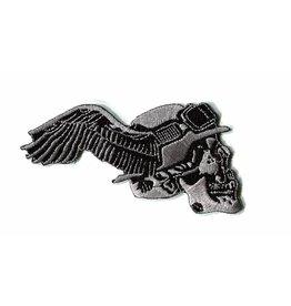 Badgeboy German skull winged right