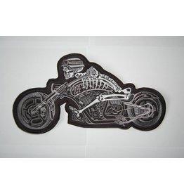 Badgeboy German skull motorcycle