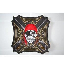 Badgeboy Pirate in cross
