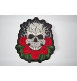 Badgeboy Skull and Roses