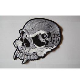 Badgeboy Skull with eyes