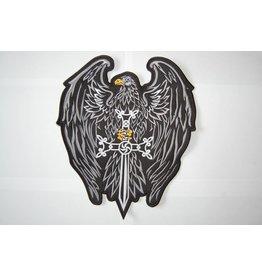 Badgeboy Eagle with Sword black