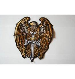 Badgeboy Eagle with  Sword Gold