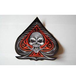 Badgeboy Spade and Skull orange