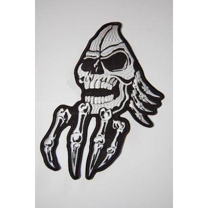 Creepy skull with hand 92 R