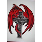 Red Dragon on Cross