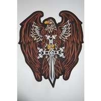 Eagle with Sword Brown